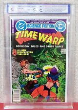 "TIME WARP, Vol 1, #1 (9.1), and #2 (8.5), 1979-1980, ""Duplex RSG"" Graded MCG, DC"