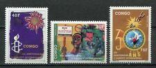 38048) Congo Rep. 1991 MNH Amnesty International 3v