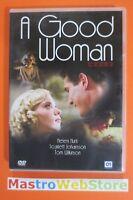 A GOOD WOMAN - Helen Hunt Scarlett Johansson - 2006 - DVD [dv32M]
