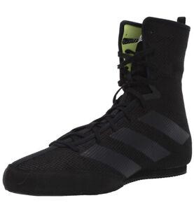 ADIDAS Box Hog 3 Boxing Shoes Mens Sz 6 Triple Black volt Boots F99921