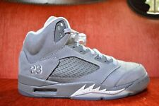2011 Nike Air Jordan V 5 Retro GRAPHITE WHITE WOLF COOL GREY BLACK SILVER 8.5