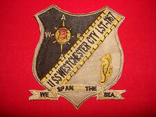 "US Navy USS WESTCHESTER COUNTY LST-1167 ""WE SPAN THE SEA"" Vietnam War Patch"