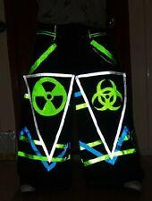 Raver ore Techno Hardstyle Tanz Hose fluoreszierend PHAT Pants Melbourne Shuffle
