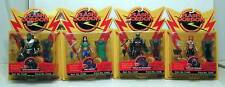 Lot 4 Action Figures FLASH GORDON Ming Dale Kobalt MOC