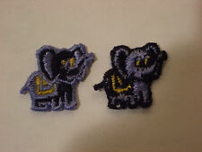 Small Blue Elephant Embroidery Applique Patch Emblem Lot (60 Dozen)