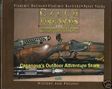 CZECH FIREARMS & AMMUNITION, HISTORY & PRESENT, NEW RARE HARDBOUND BOOK On Sale