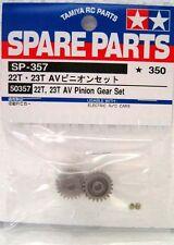 Tamiya 50357 RC Car 22T & 23T AV Pinion Gear Set For TA04/TA05/M04/TT01/WR02