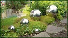 EDELSTAHLKUGEL Ø 45 cm Deko Kugel Schwimmkugel Gartenkugel hochglänzend