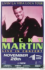 RICKY MARTIN 1999 DENVER CONCERT TOUR POSTER -Latin Pop Music