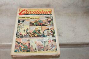 L'aventureux journal de la jeunesse moderne année 1939 (manque 1 n°) BD ancienne