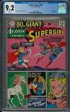ACTION COMICS #347 CGC 9.2   (3-4/67) DC 80 Page Giant white pages