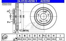 2x BREMSSCHEIBE Ø276 BELÜFTET VORNE MITSUBISHI L200 2.4+2.5 BJ 96-06