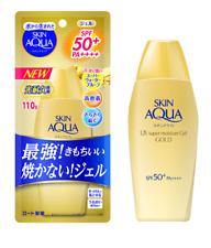 NEW 2020 Rohto Skin Aqua Sunscreen Super Moisture Gel Gold SPF50+ / PA++++ 110g
