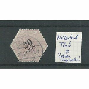 "Nederland TG6  ""ZETTEN 1920"" langebalk stempel VFU/gebr CV  ?? €"