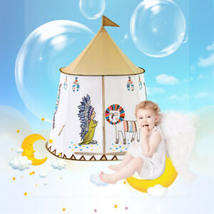 Kid Tent House Princess Castle 123*116cm Children Teepee Play Tent Tent Bed Tent