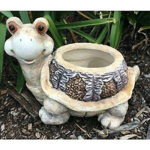 40cm  Turtler Planter Pot Garden Statue Ornament
