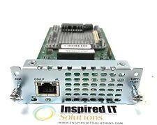 NIM-1MFT-T1/E1 - Cisco 1 port Multi-flex Trunk Voice/Clear-channel Data T1/E1