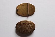 Gürtelschnalle, Gürtelschließe, Metall, Ornament, kupfer, 35 mm