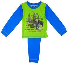 Vêtements verts pour garçon de 2 à 16 ans en 100% coton