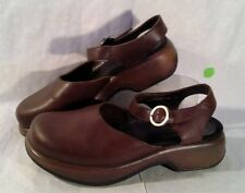 Dansko Women's Size 39=8.5-9 Mule Style with Ankle Strap and Buckle Casual Shoes