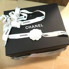 Chanel Large magnetic box with Tissue Paper, Ribbon & Camellia 33 x 27 x 12cm