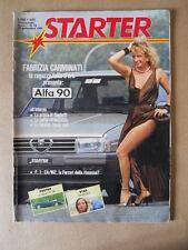 STARTER n°16 1984 - Fabrizia Carminati presenta ALFA 90 [GS49]