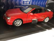 Mercedes-Benz CLK Cabrio 1:18 KYOSHO