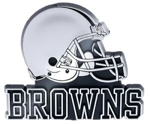 Cleveland Browns NFL Car Truck Automotive Grill Emblem Chrome Finish F3D15K