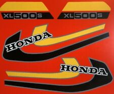 HONDA XL500S MODEL  FULL PAINTWORK DECAL KIT