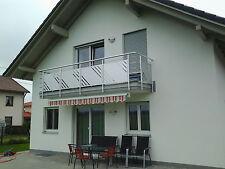 Balkongeländer  Lochblech Aluminium Balkon Geländer