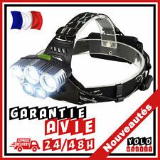 Halepro Lampe frontale puissante Torche LED Rechargeable avec 5 CREE Xml-t6 6