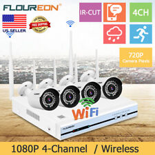 4Ch Wireless Hd 1080P Dvr Wifi Cctv Ir Video Recorder Security Camera Nvr System