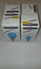 4 x LAMPWAYS BLUE HOBBYLITE 100W  E27 ES GLS Light Bulb Lamp 240V Quality UK