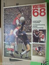 1968 VOETBAL 68,SOCCER,FOOTBALL,FEYENOORD,AJAX,EIJKENBROEK,DWS,DOS,ADO,PSV,TWEN