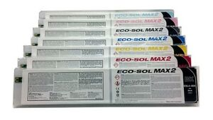 7 x Original ROLAND VS-300i VS-540i VS-640i XF-640 XR-640 / 440ml EcoSol Max 2