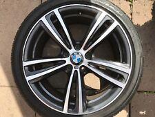 """OEM BMW serie 3/4 sereies 19"""" stile 442M POSTERIORE LEGA RUOTA 7852493 Orbit Grigio"""