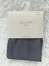 Zara Kids Size 8 / 9 Girls Tights Dark Navy Blue Midnight Accessories NEW