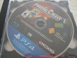 Minecraft --Starter Collection (Sony PlayStation 4, 2019) DISC ONLY FREE SHIPPIN