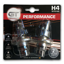 GT Performance H4 Car Headlight Replacement Bulbs (Twin) 19249042B