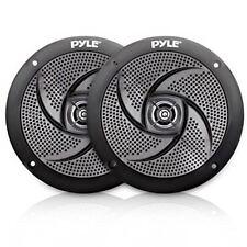 Waterproof Rated Marine Speakers, Low-Profile Slim Pair, 4.0'' -inch  (100 Watt)