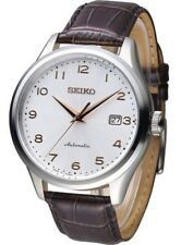 Seiko Automatic 100m Leather Strap Men's Watch SRP705K1