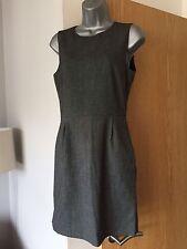 Size S Zara Grey Smart Work Bodycon Dress