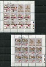Malta 594 - 595 Kleinbogen Satz gestempelt, Europa - Geschichte der Post