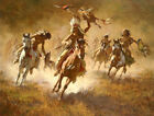 """Terpning  """"MYSTIC POWER OF THE WAR SHIELD""""  Limited Edition CANVAS Signed"""