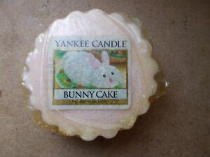 Yankee Candle Usa Deerfield Bunny Cake Wax Tart