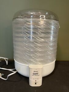 VTG RONCO GIANT 10-Tray Food Dehydrator w/ Box *MISSING ONE TRAY*