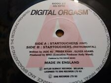 "DIGITAL ORGASM "" STARTOUCHERS "" 7"" SINGLE HOUSE EXCELLENT 1992"