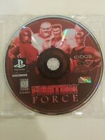 VINTAGE Fighting Force Sony PlayStation PS1 Game Disc Only 1997