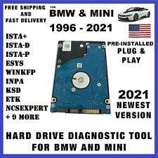 2021 ISTA+ D/P for BMW MINI Diagnostic Hard Drive Software INPA ENET K+DCAN ICOM