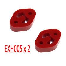Powerflex Exhaust Mounts x2 for Mazda MX5 Mk1 Mk2 89-2005 Miata Eunos EXH005